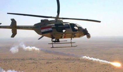مقتل نحو 40 ارهابي وتفجير عجلات مفخخة لداعش بنيران القوة الجوية في الموصل