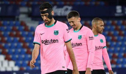 برشلونة يعتزم الاستغناء عن 14 لاعباً