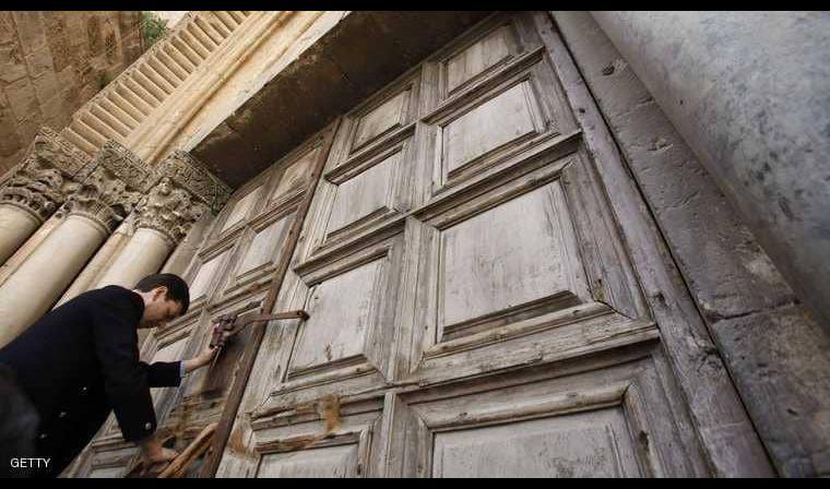 كنيسة القيامة تغلق أبوابها احتجاجا على ضرائب إسرائيل
