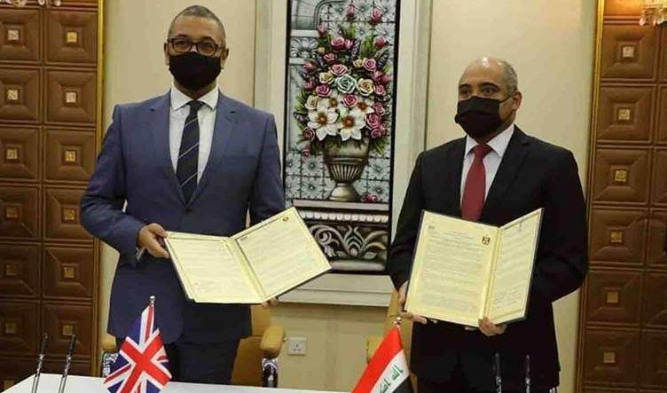 الداخلية العراقية توقع خطاباً لدعم الجهاز الاستخباري مع الخارجية البريطانية