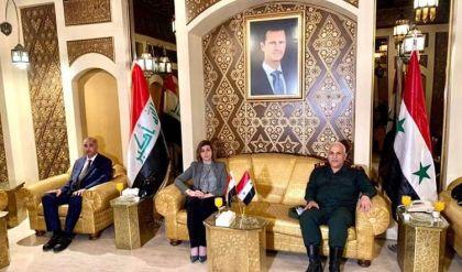وزيرة الهجرة العراقية تتابع أوضاع اللاجئين في زيارة للعاصمة السورية دمشق