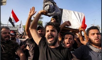استمرار الغضب الشعبي في كربلاء إثر اغتيال الناشط إيهاب الوزني