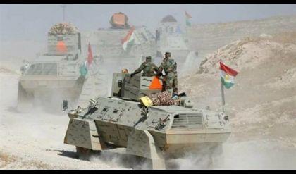 عملية مشتركة لقوات البيشمركة والتحالف الدولي ضد داعش قرب مخمور جنوب الموصل