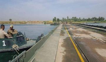 عمليات نينوى: اغلاق جسري النصر والحرية العائمين لمدة 3 ايام