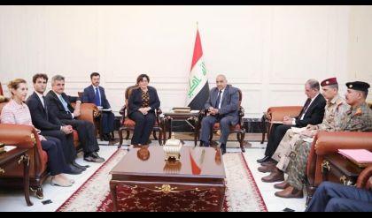 ايطاليا تؤكد وقوفها الى جانب العراق في مواجهة التحديات والمسؤوليات