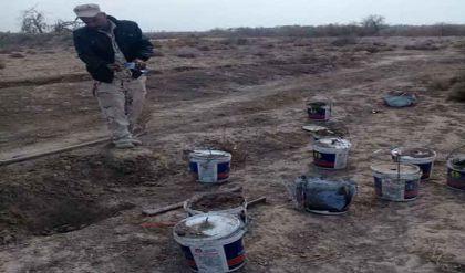 إصابة 13 عنصراً من الجيش بانفجار أثناء تفكيك عبوات جنوبي الفلوجة