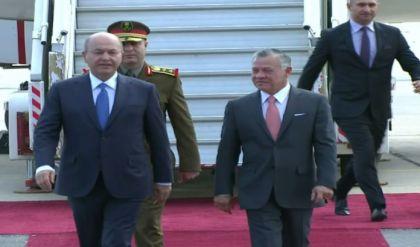 الملك الاردني يصل بغداد
