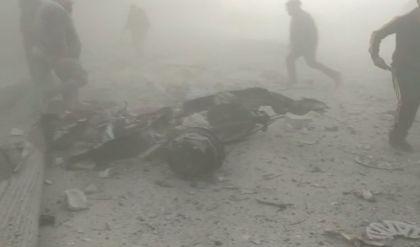 انفجار مفخخة في عفرين يسفر عن 18 قتيلاً وجريحاً