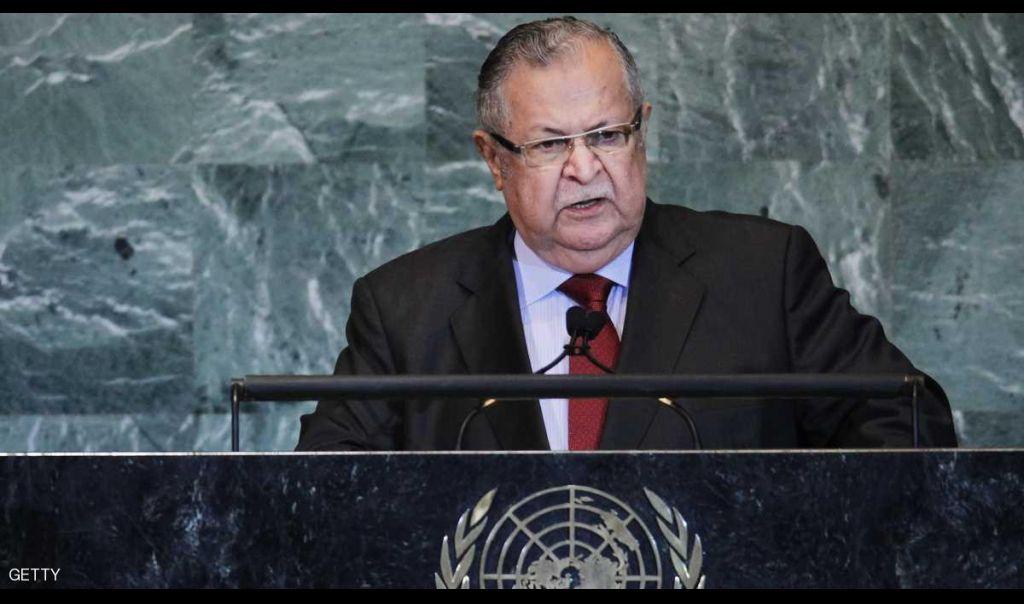 وفاة الرئيس العراقي السابق جلال طالباني