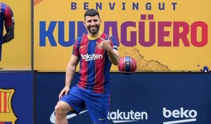 أغويرو يغيب عن برشلونة