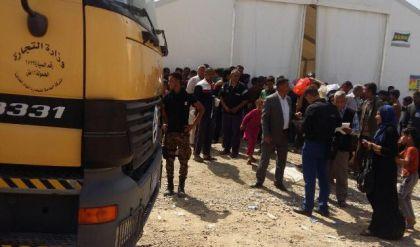 التجارة : تجهيز مادتي السكر وزيت الطعام للوكلاء في الجانب الايمن من الموصل