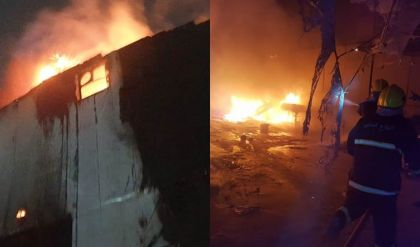 بعد فاجعة ابن الخطيب.. الدفاع المدني يعلن إخماد حريق وسط تكريت وآخر في كركوك