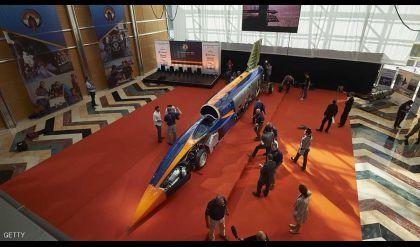 بريطانيا تختبر سيارة فضائية بمحرك صاروخي