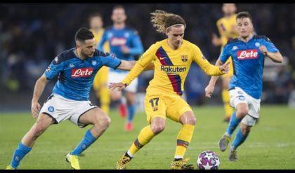 الكشف عن مكان مباراة برشلونة ونابولي في دوري أبطال أوروبا