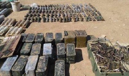 العثور على كدس عتاد غربي الموصل