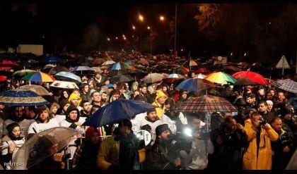 آلاف القبارصة الأتراك يتظاهرون ضد أردوغان