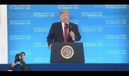 ترامب: قد نعلن عن القضاء على ما تبقى من