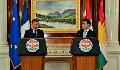 نيجيرفان بارزاني: مشاركة ماكرون بقمة بغداد وزيارته لإقليم كوردستان قيّمة جداً