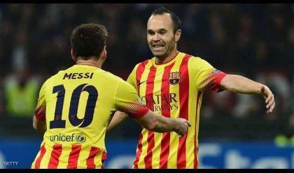 كلمات مؤثرة من ميسي إلى قائد برشلونة