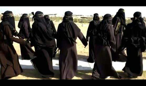 أربيل.. سجن 25 امرأة ينتمين لداعش