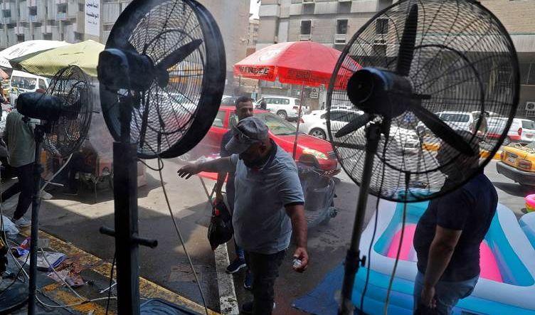 العراق يشهد انخفاظاً في درجات الحرارة