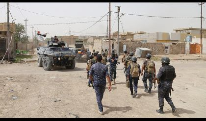 الشرطة الاتحادية تقترب من جامع النوري في الموصل