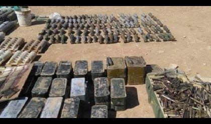 قوات الجيش تعثر على كدس عتاد ومواد متفجرة من مخلفات داعش في نينوى