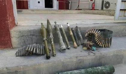 ضبط مخبأ كبير للأسلحة والصواريخ بعملية امنية قرب من الشريط الحدودي مع سوريا