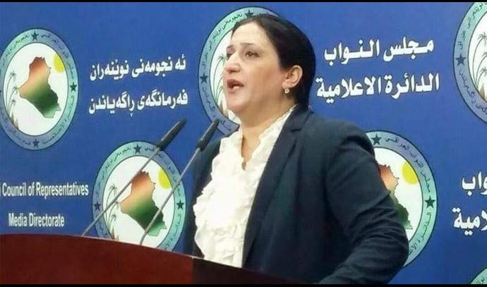 نائب تطالب بالكشف عن حقائق ملف سقوط الموصل أمام الرأي العام