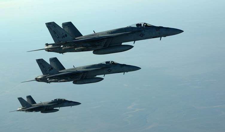 ضربة جوية للتحالف الدولي تودي بأربعة