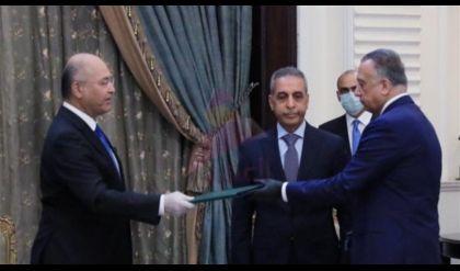 رئيس الجمهورية: الكاظمي صحفي ذكي وسيتجاوز المشاكل