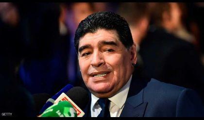 رئيس فنزويلا سيلعب تحت قيادة مارادونا