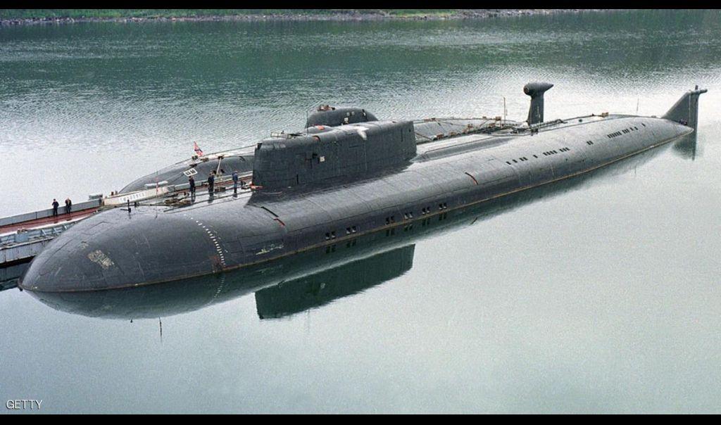 بوتن يستعرض قوة سلاح البحرية الروسي
