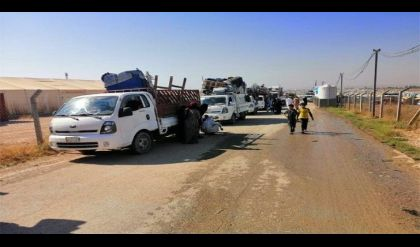 عودة 1326 نازح الى الموصل ضمن برنامج العودة الطوعية