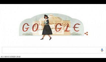 غوغل يحتفي بمؤسسة أول حزب نسائي في مصر