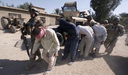اعتقال 4 دواعش يعملون فيما يسمى بالحسبة والجند بأيمن الموصل