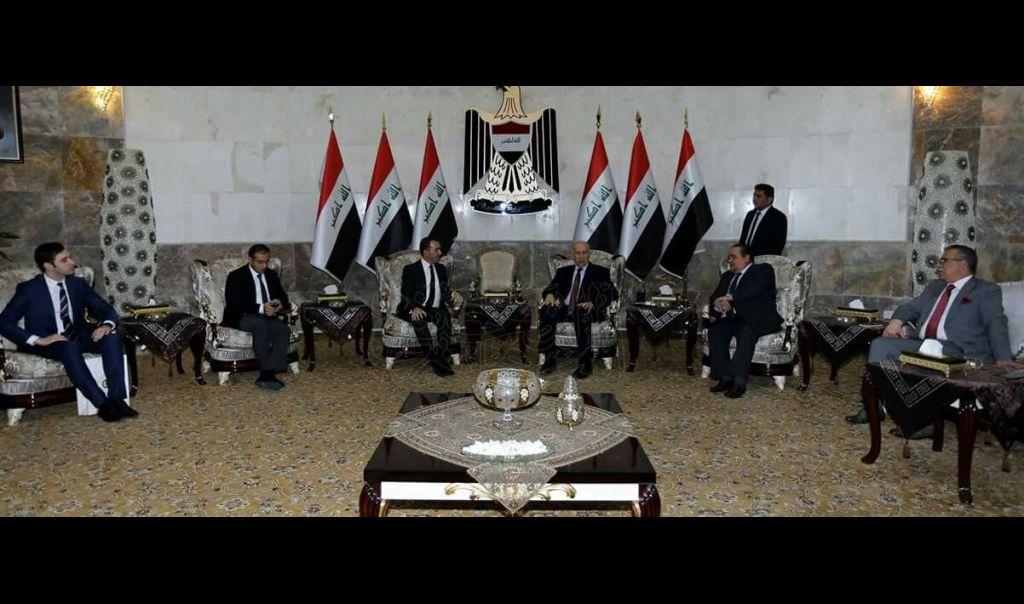 نائب رئيس الجمهورية يستقبل سفير الجمهورية التركية في العراق