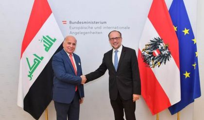 العراق يدعو النمسا إلى إعادة إفتتاح سفارتها في بغداد