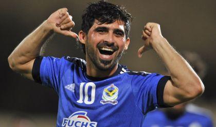 الإصابة تبعد حمادي أحمد عن مباراة الحد البحريني