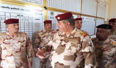 قيادة عمليات نينوى تؤكد اخذ التدابير الامنية لمنع تسلل عناصر داعش من سوريا الى داخل اراضي المحافظة