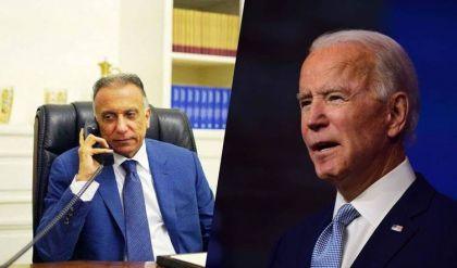 بأول اتصال بينهما.. الكاظمي وبايدن يؤكدان أهمية حماية البعثات الدبلوماسية ورفض محاولات زعزعة الأمن