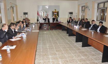 مجلس محافظة نينوى يعقد جلسته الاعتيادية ويناقش عدة امور مهمة