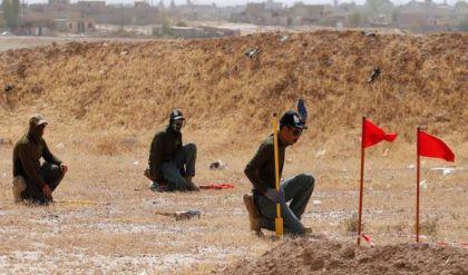 رفع 80 % من الألغام في أيمن الموصل