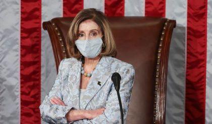 إعادة انتخاب الديمقراطية نانسي بيلوسي رئيسة لمجلس النواب الأميركي