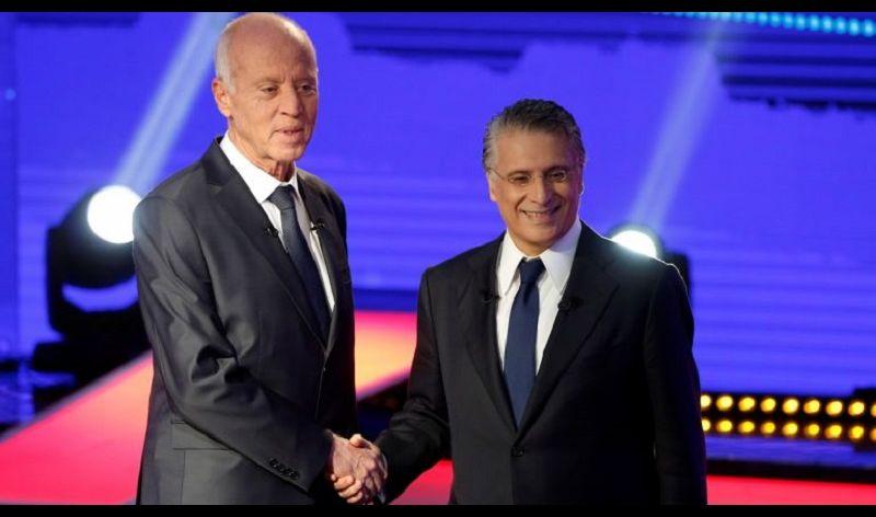 فوز كاسح لقيس سعيد بنسبة 75 بالمئة من الاصوات في الانتخابات الرئاسية لتونس