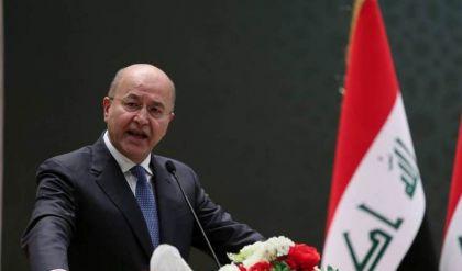 برهم صالح يؤكد أهمية دعم الأجهزة الأمنية وعدم الاستخفاف بخطر داعش