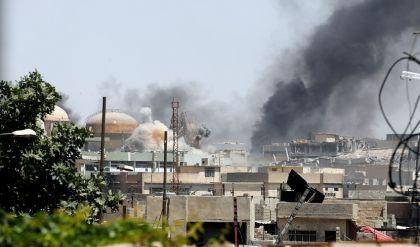 القوات الأمنية تتقدم صوب جامع النوري في الموصل