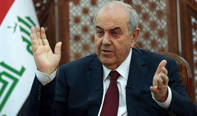 علاوي يحذر من أذى محتمل على العراق جراء