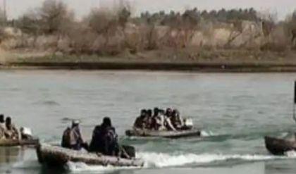 قتل مجموعة إرهابية تستقل زورقين في الشرقاط