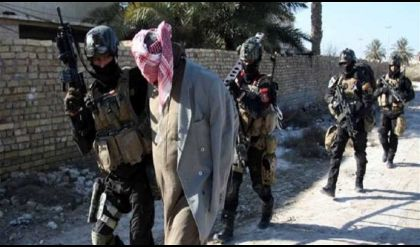 القبض على ارهابي خطر  في أيمن الموصل